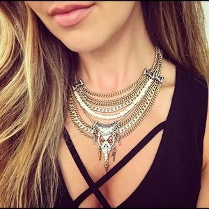 Chloe & Isabel Amulet Statement Necklace